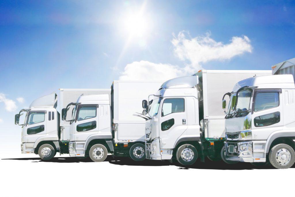 様々なトラック車両